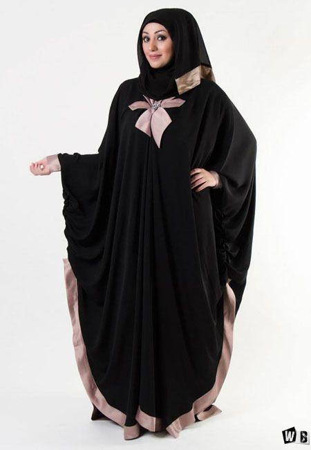 عبايات دبي 2015 صور عبايات 2015 خليجية سوداء اجمل عبايات خليجيه Abayas Fashion Abaya Designs Abaya Fashion