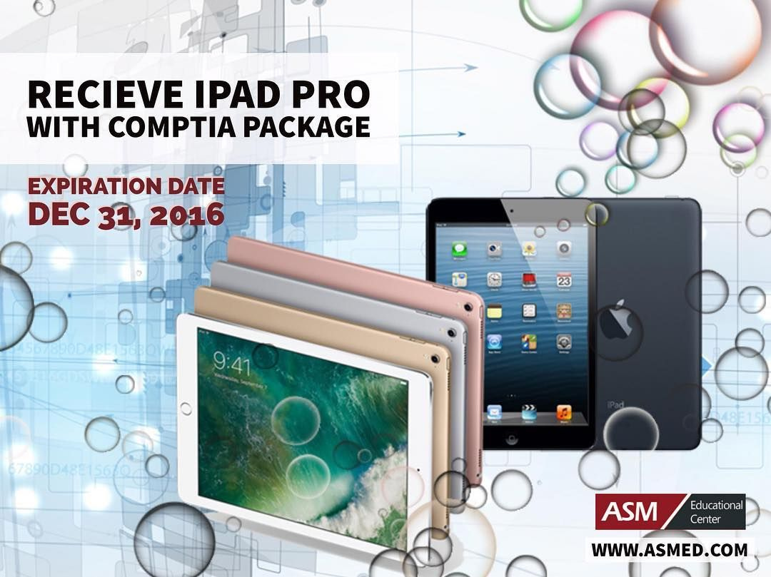 Receive ipad pro with comptia training package check out our receive ipad pro with comptia training package check out our website in 1betcityfo Images