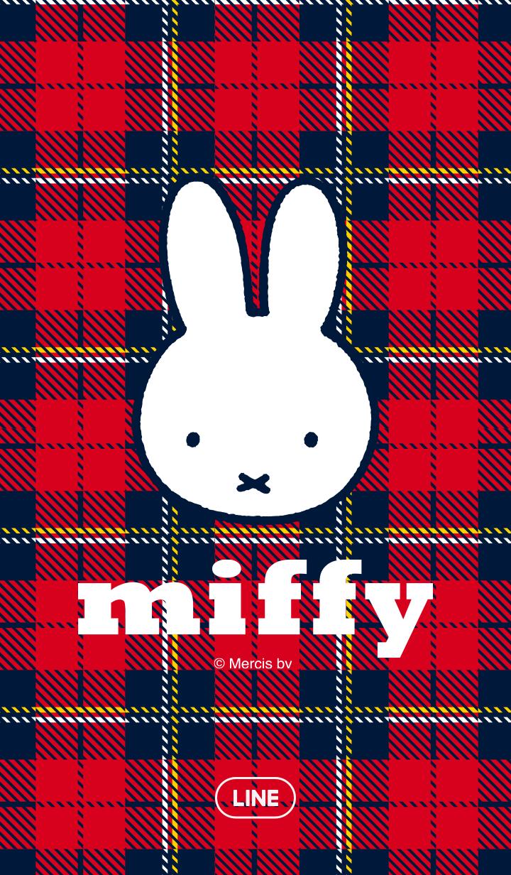 Miffy And Check ミッフィー イラスト ミッフィー 壁紙 壁紙