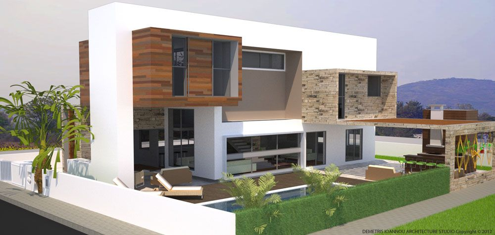 residence in Strovolos 2 | Sustainable architecture, House ...