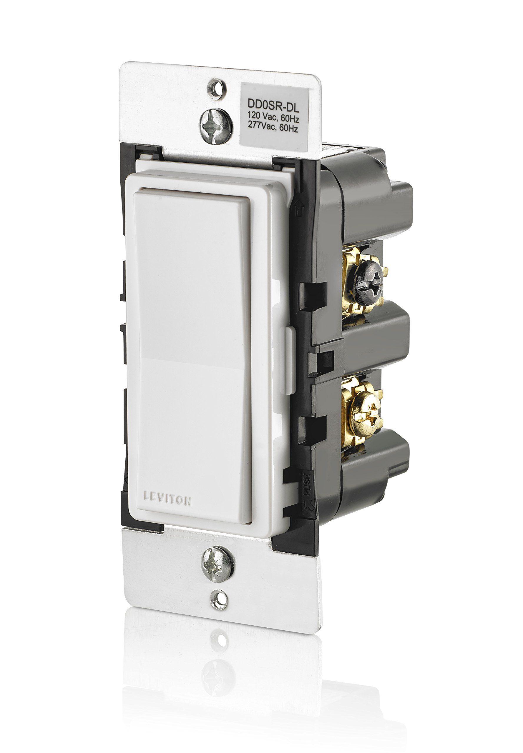 Leviton DD0SRDLZ Dual Voltage 120/277VAC Decora Digital/Decora Smart ...