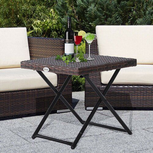 Staples Folding Rattan Coffee Table Lynton Garden Products