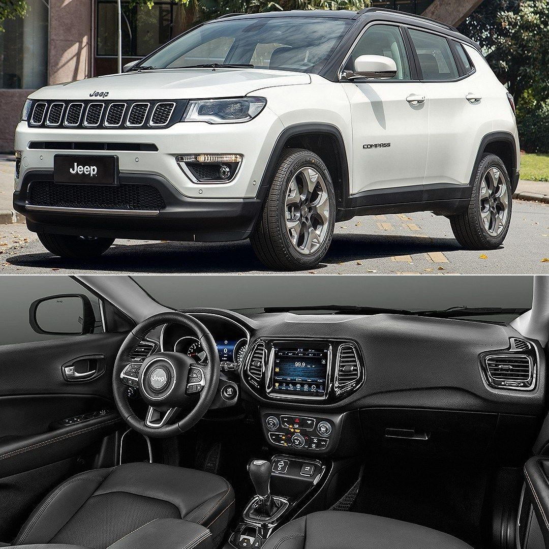 Jeep Compass Limited 2 0 Flex 2017 Carros De Luxo Rodas