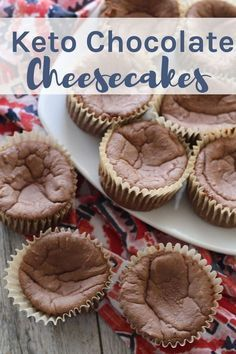 If you are looking for a low carb dessert option, these quick and easy Keto Chocolate Cheesecake Muffins are the perfect way to start or end your day!
