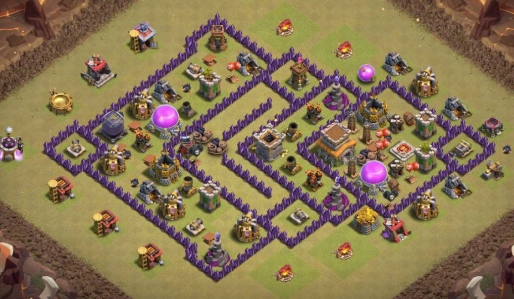 32 Best Th8 War Base Links 2021 New Anti Dragons War Clash Of Clans Base