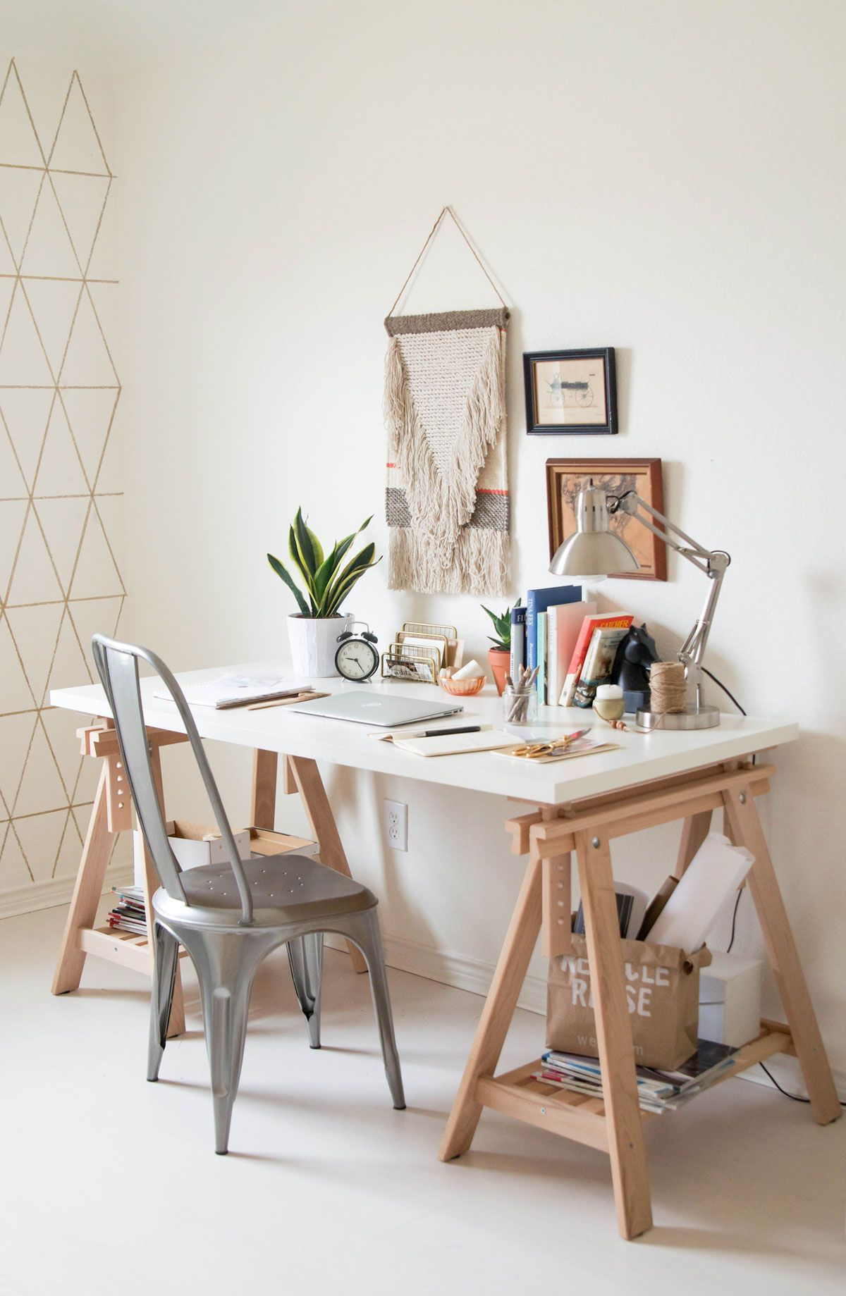 home office styling by ashlee from ashleecreates.com