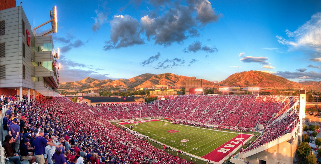University Of Utah Football Stadium Wallpaper