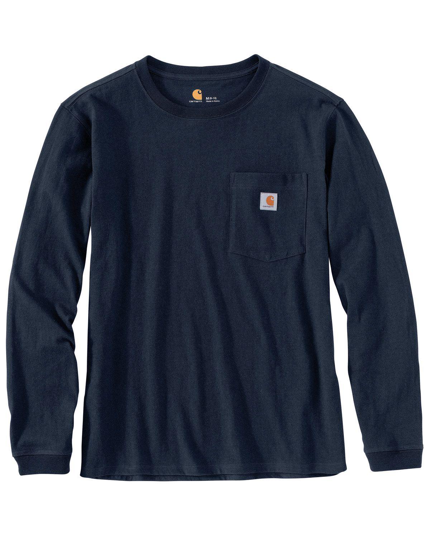 Carhartt Women's WK126 Workwear Pocket Long-Sleeve T-Shirt #carharttwomen