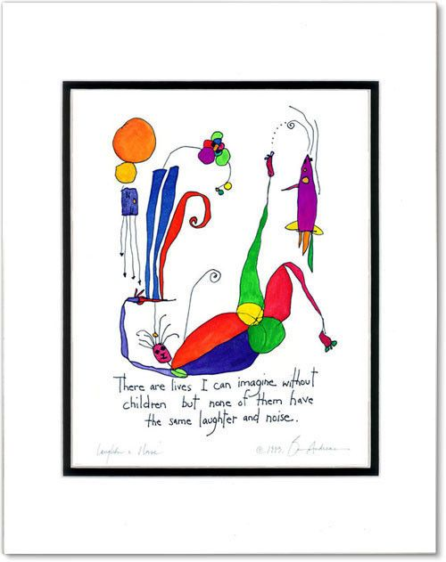 Laughter Noise Storypeople Print By Brian Andreas Baby S Room