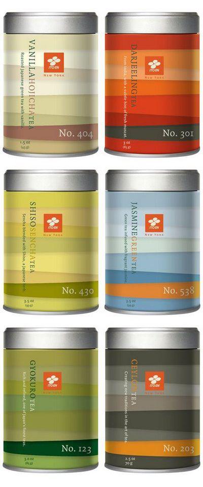 For you @Giovanna Mastrocola. Ito En loose leaf tea.  Great color combos IMPDO.