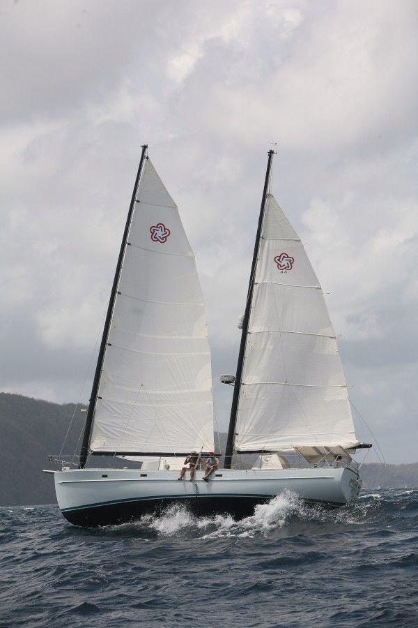 Sailblog Freedom 44 Allana Sailboat Plans Sailing Cool Boats