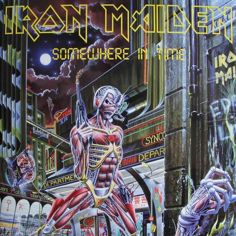IRON MAIDEN//EDITION LIMITEE//CADRE DISQUE DOR CD ET VINYLE//IRON MAIDEN