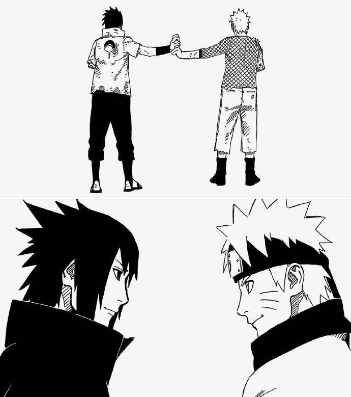 Naruto And Sasuke Friend Is A Goodly Portion Of Luck