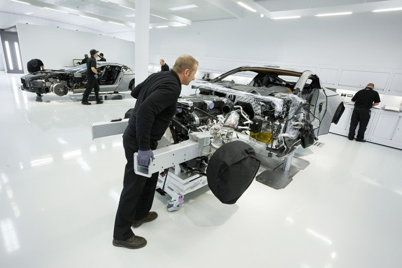 Aston Martin One 77 Assembly Aston Martin Aston Car Workshop