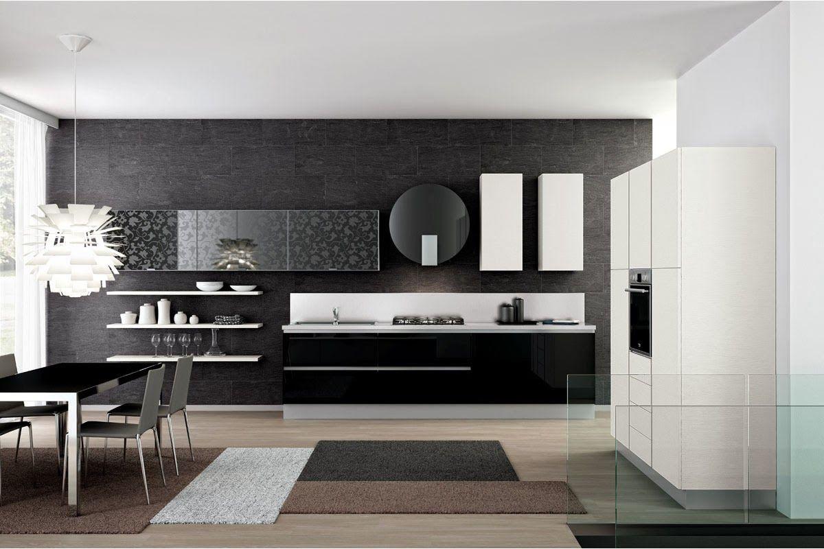 cocina moderna italiana | Cucines | Pinterest | Cocina moderna ...