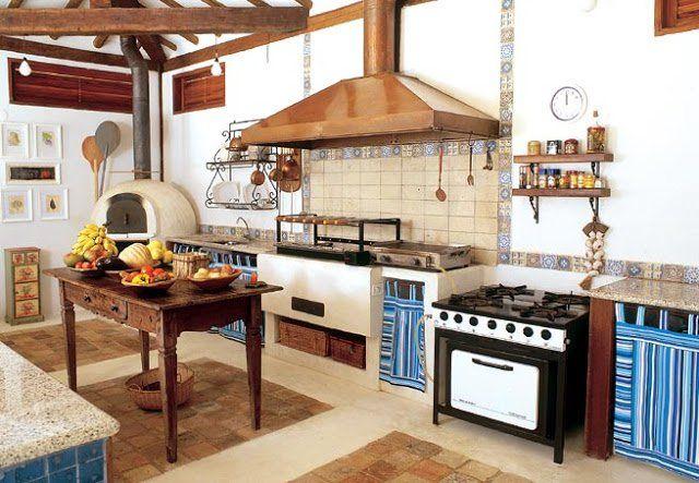 Resultado de imagen para imagenes de cocinas rusticas cocinas para