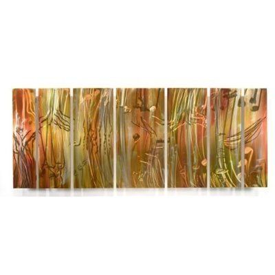 All My Walls Swl00029 Metal Wall Sculpture By Ash Carl By All My Walls 1552 00 This 7 Panel Metal Abstract