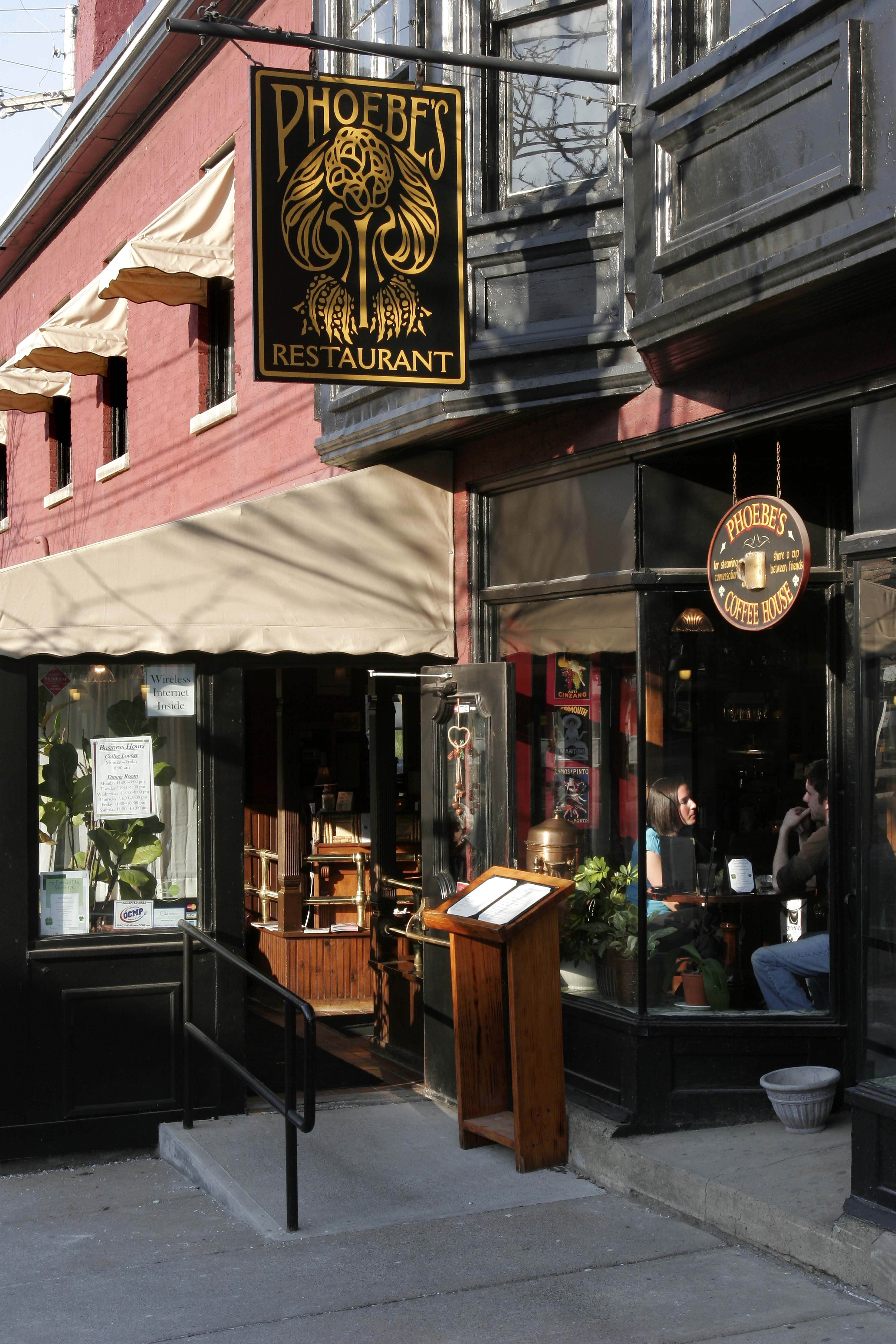 Phoebe S Restaurant Armory Square In Syracuse Ny Is The Pace To Relax