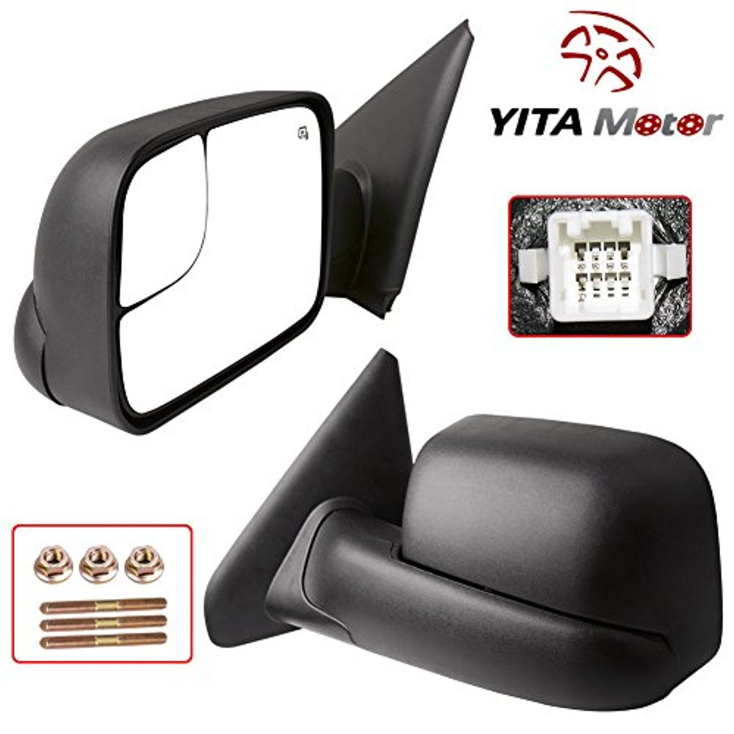 7cda5002984d2b77be1516faba395572 yitamotor towing mirrors for dodge 02 08 ram 1500 03 09 ram 2500 Dodge Ram 1500 Jack at n-0.co