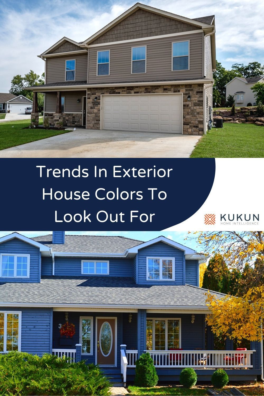 12 Exterior House Colors That Will Be Huge In 2020 In 2020 Exterior House Colors House Exterior Blue House Exterior