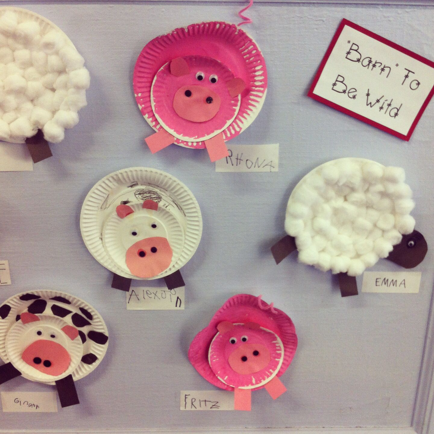 1000+ images about Farm Animal Crafts on Pinterest   Cow pattern ...