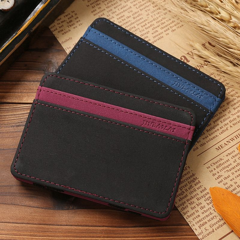 New arrival High quality PU leather magic wallets men fashion ...