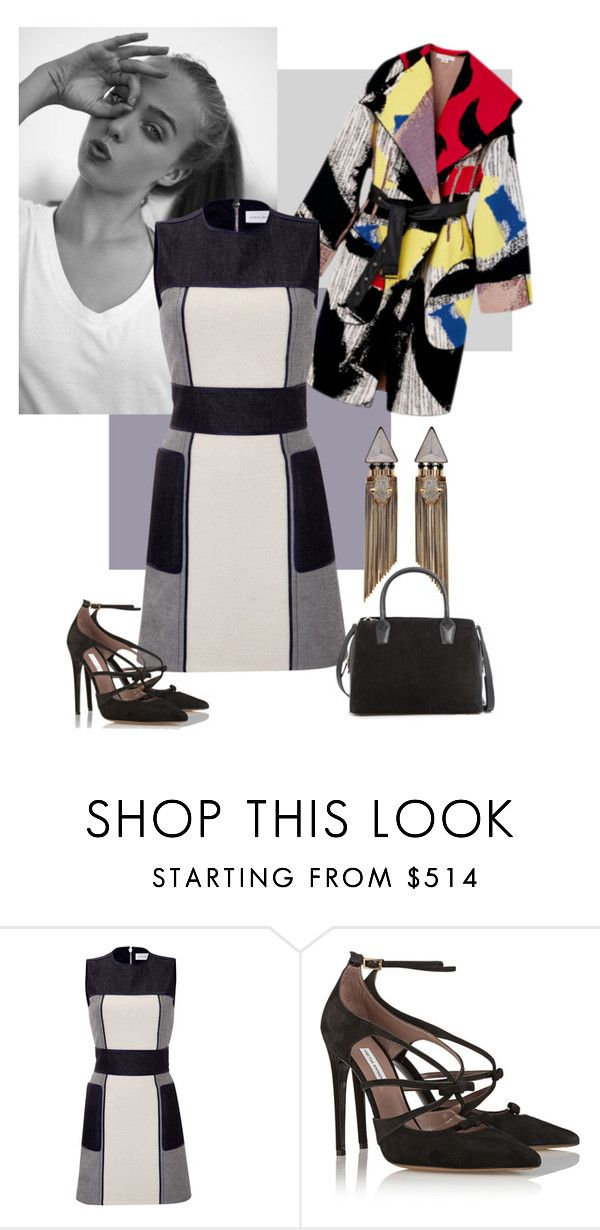 """""""Bounce"""" by verny ❤ liked on Polyvore featuring dVb Victoria Beckham, Tabitha Simmons and MANGO"""
