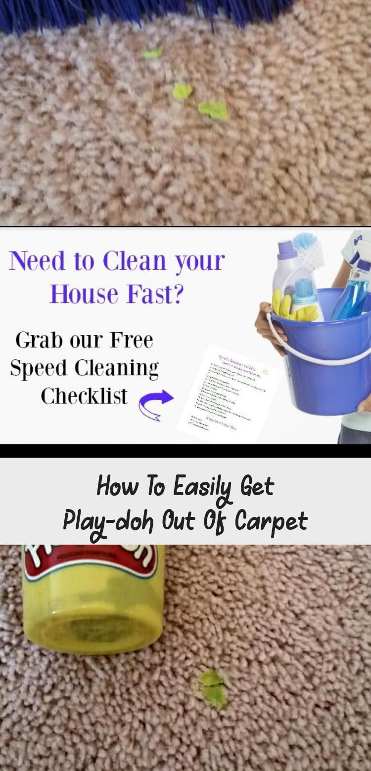 How To Easily Get Play Doh Out Of In 2020 How To Clean Carpet Getting Played Commercial Carpet Cleaning