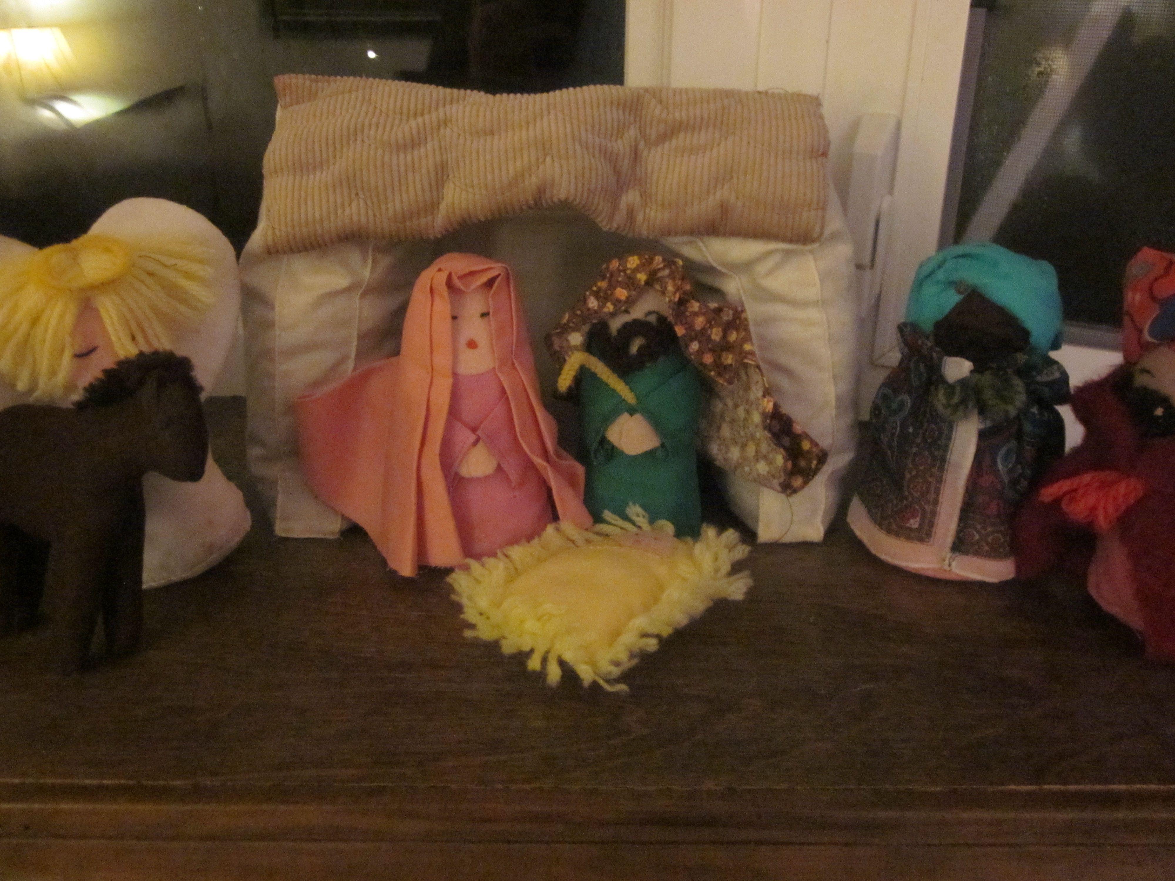 Nativity Sequencing Preschool Christmas Activity