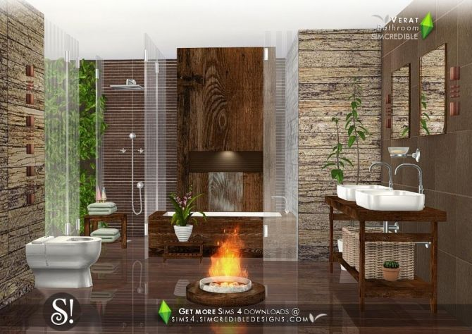 Pin By Celia Robertson On Objects Sims 4 Sims House Luxury Bathroom Sims 4