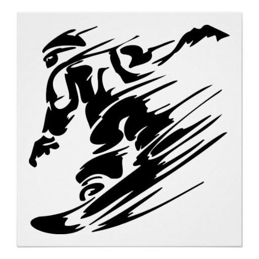 Snowboarding Extreme Sport Poster Zazzle Com Snowboarding