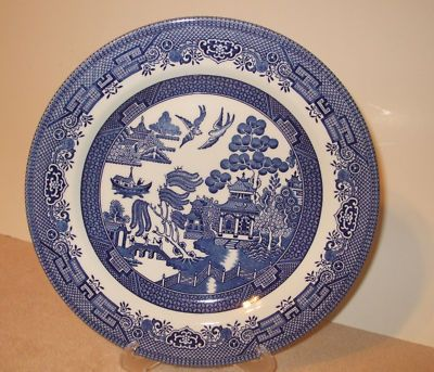 China Pattern I Have This But I Would Like Another Set In A Different Pattern So That I Have A Plate For Everyone Blue Willow Blue Willow China China Patterns