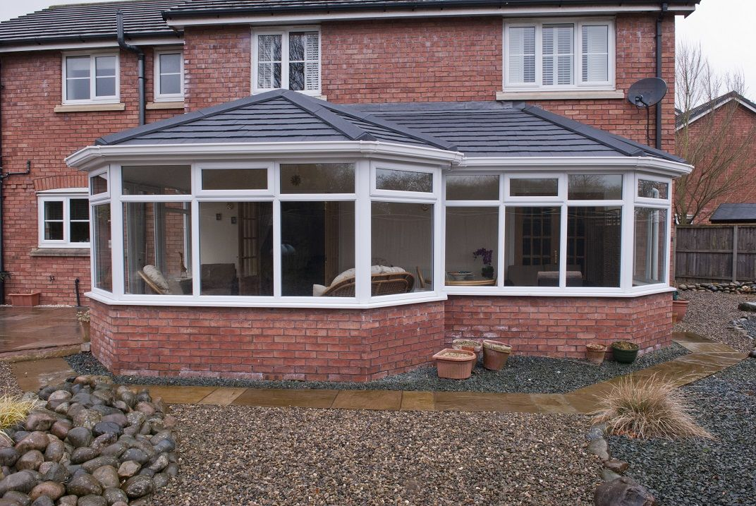 Equinox Tiled Roof System From Eurocell Http Www Eurocell Co Uk Homeowners 504 Equinox 1 Tiled Conservatory Roof Roof Extension Conservatory Roof