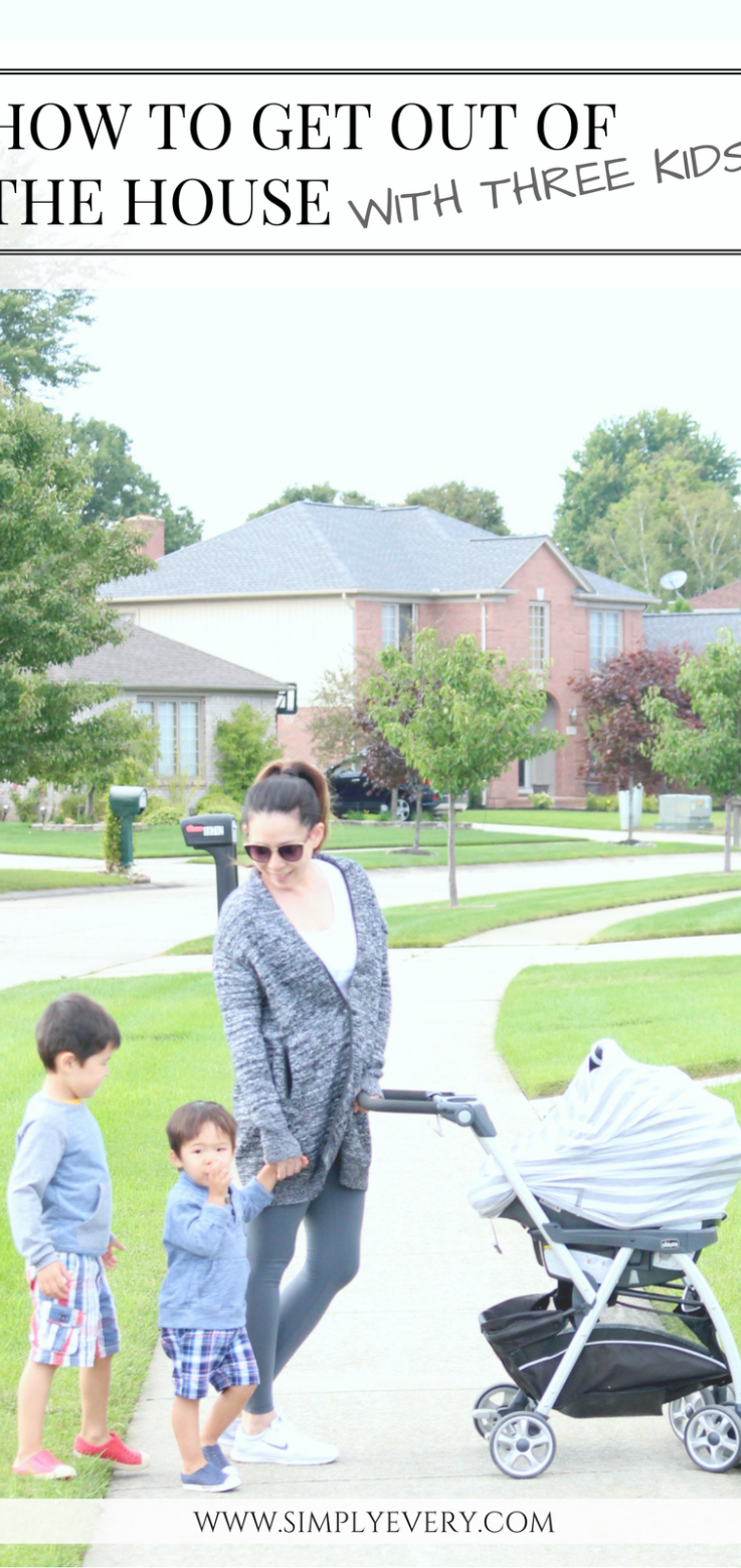 How To Get Out Of The House With Three Kids Beautytipsinurdu Three Kids Parenting Baby Gear Reviews