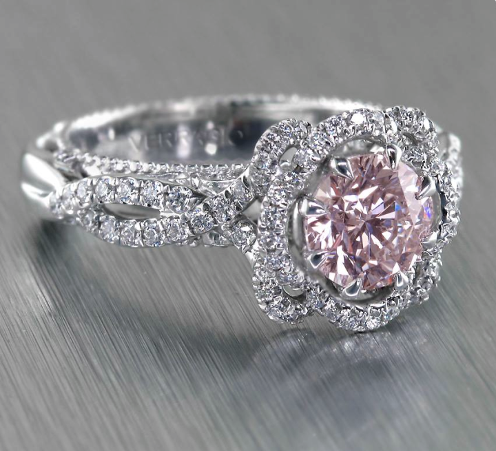 36 Remarkable Engagement Rings Modwedding Pink Diamonds Engagement Wedding Rings Vintage Pink Diamond Engagement Ring