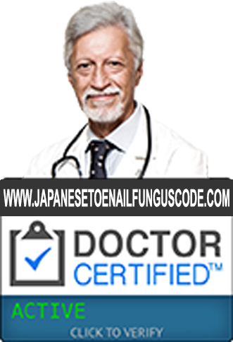 Created By Dr Ishiguro The Japanese Toenail Fungus Code Is An All