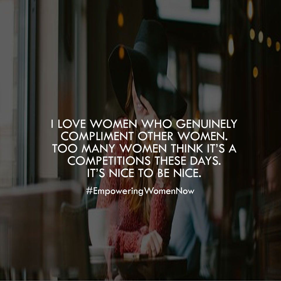 compliments women love