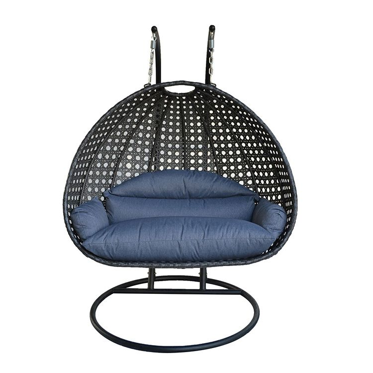 Two Person Wicker Hanging Swing Chair Hanging Swing Chair Swinging Chair Hanging Swing