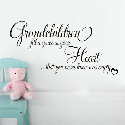 Grandchildren Heart Wall Sticker For Living Room Bedroom Decoration BH #fashion #home #garden #homedcor #decalsstickersvinylart (ebay link)