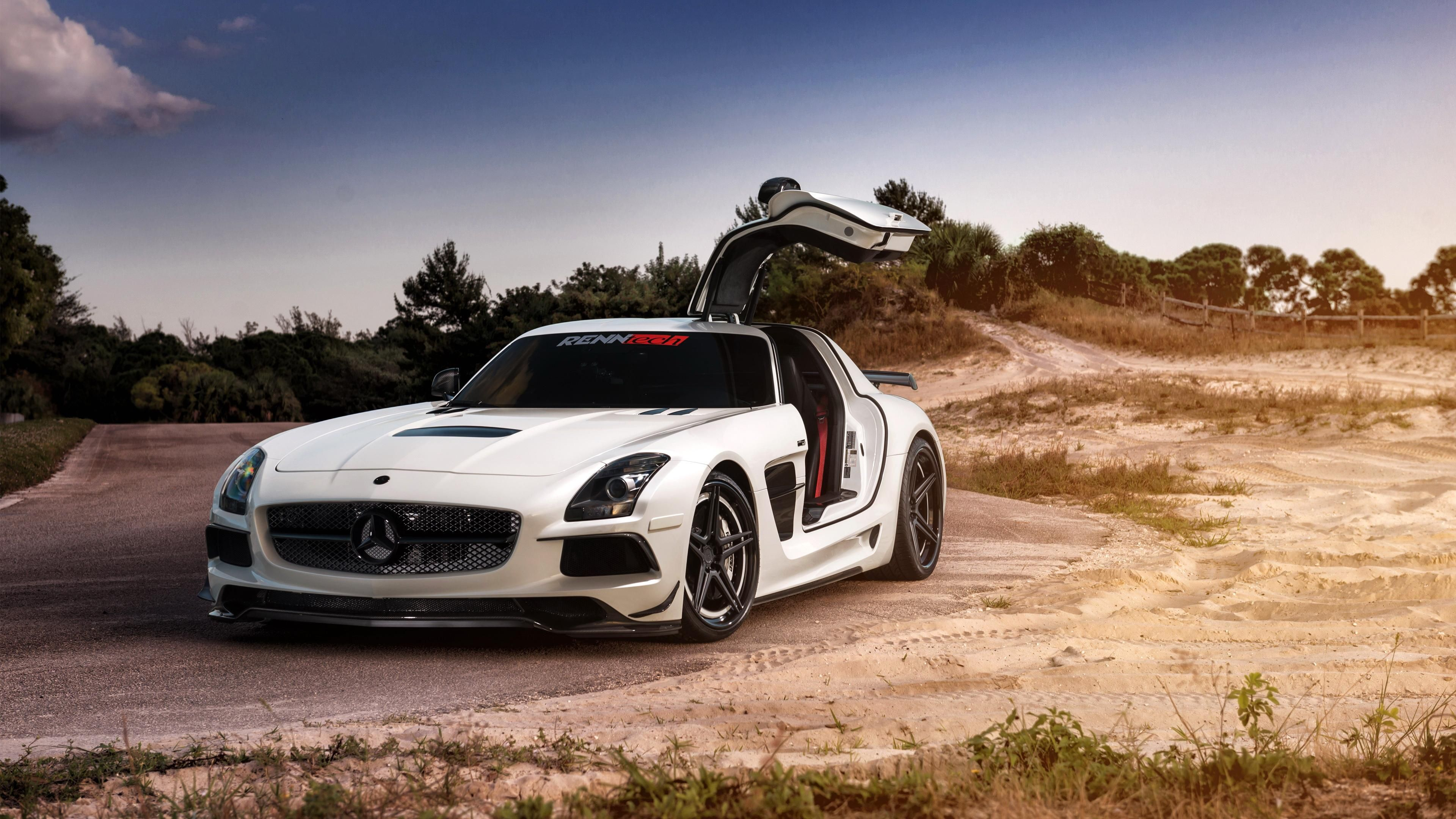 Wallpaper 4k Mercedes Sls Amg 4k 4k Wallpapers Amg Wallpapers