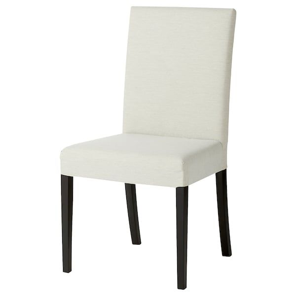 Harry Chaise Noir Knisa Beige Clair Magasinez Sur Fr Ikea Ca Ikea In 2020 Upholstered Chairs Chair Light Beige