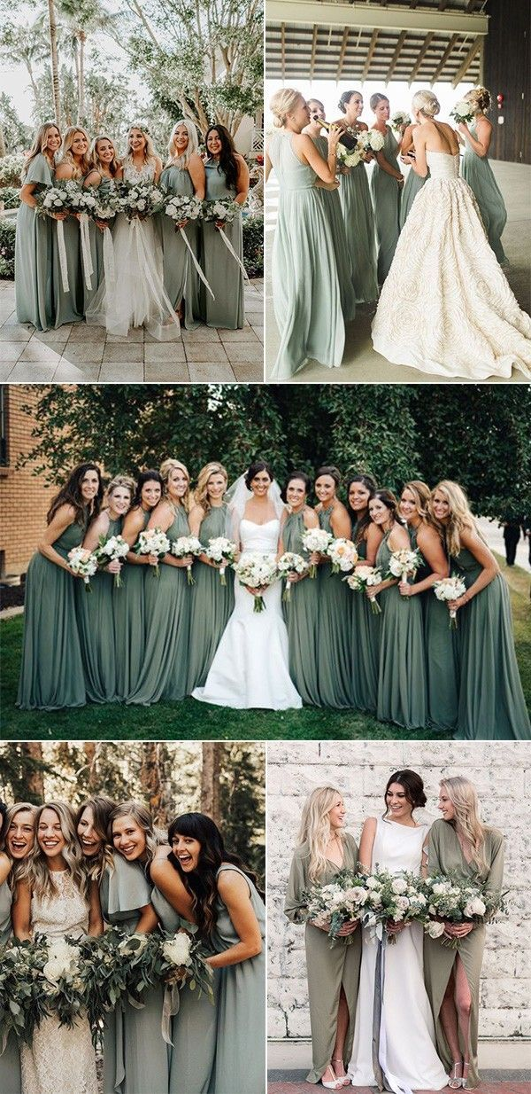 30+ Sage Green Wedding Ideas for 2020 Trends - Page 2 of 2 - Oh Best Day Ever #sagegreendress