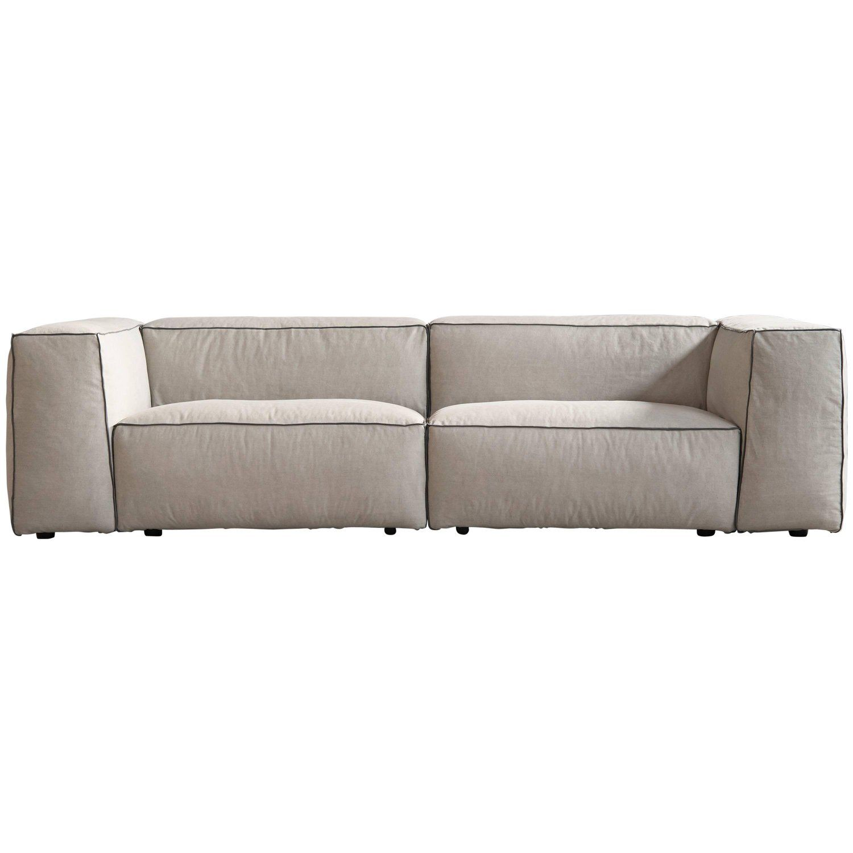 Sifnos Handmade Contemporary Sofa Modular Fabric Cover Fixed Seat Backrest Contemporary Sofa Vintage Sofa Sofa