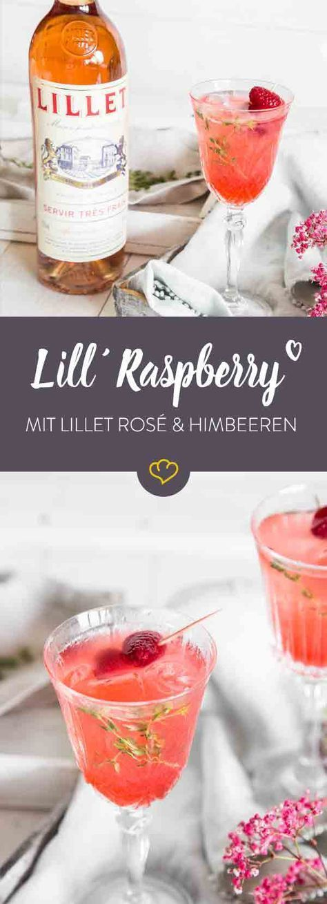 Lil´ Raspberry Bowl – Sommerliche Himbeerbowle #boissonsfraîches