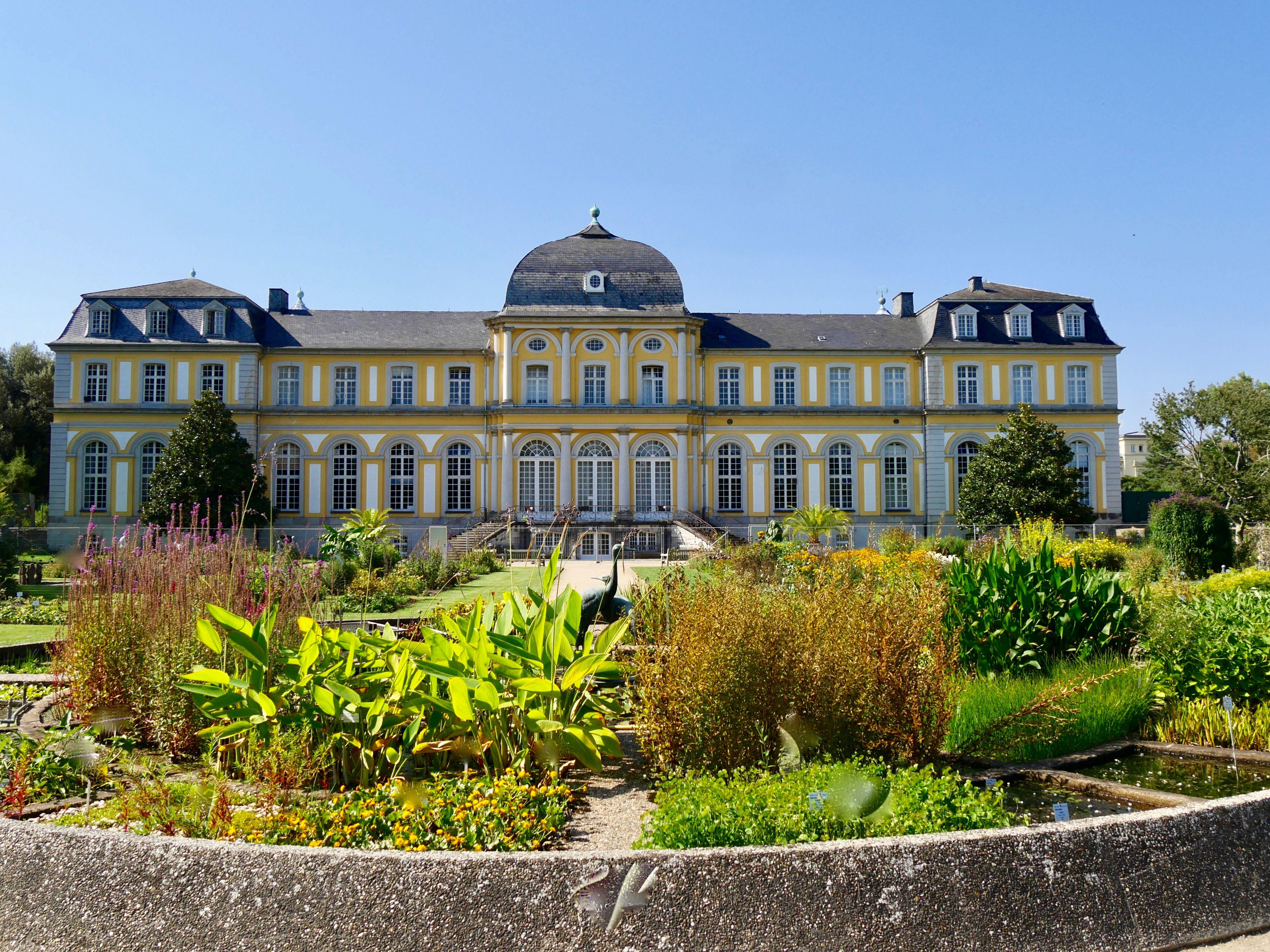 Botanischer Garten Bonn Botanischer Garten Bonn Poppelsdorfer Schloss Sehenswurdigkeiten Deutschland