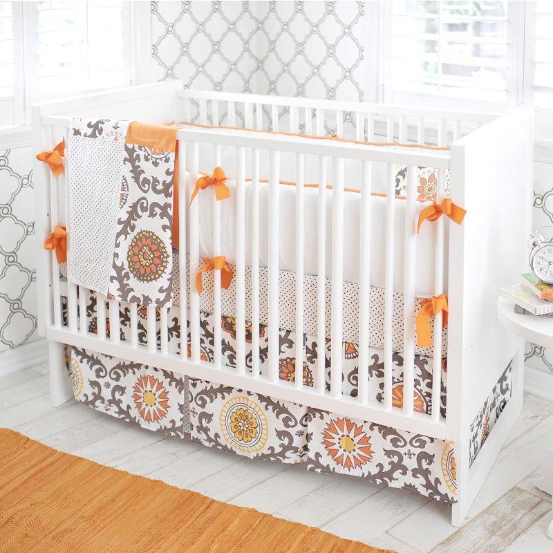 Baby Bedding Orange Brown And Orange Baby Bedding Orange And Brown Baby Bedding Baby Crib Sets Grey Baby