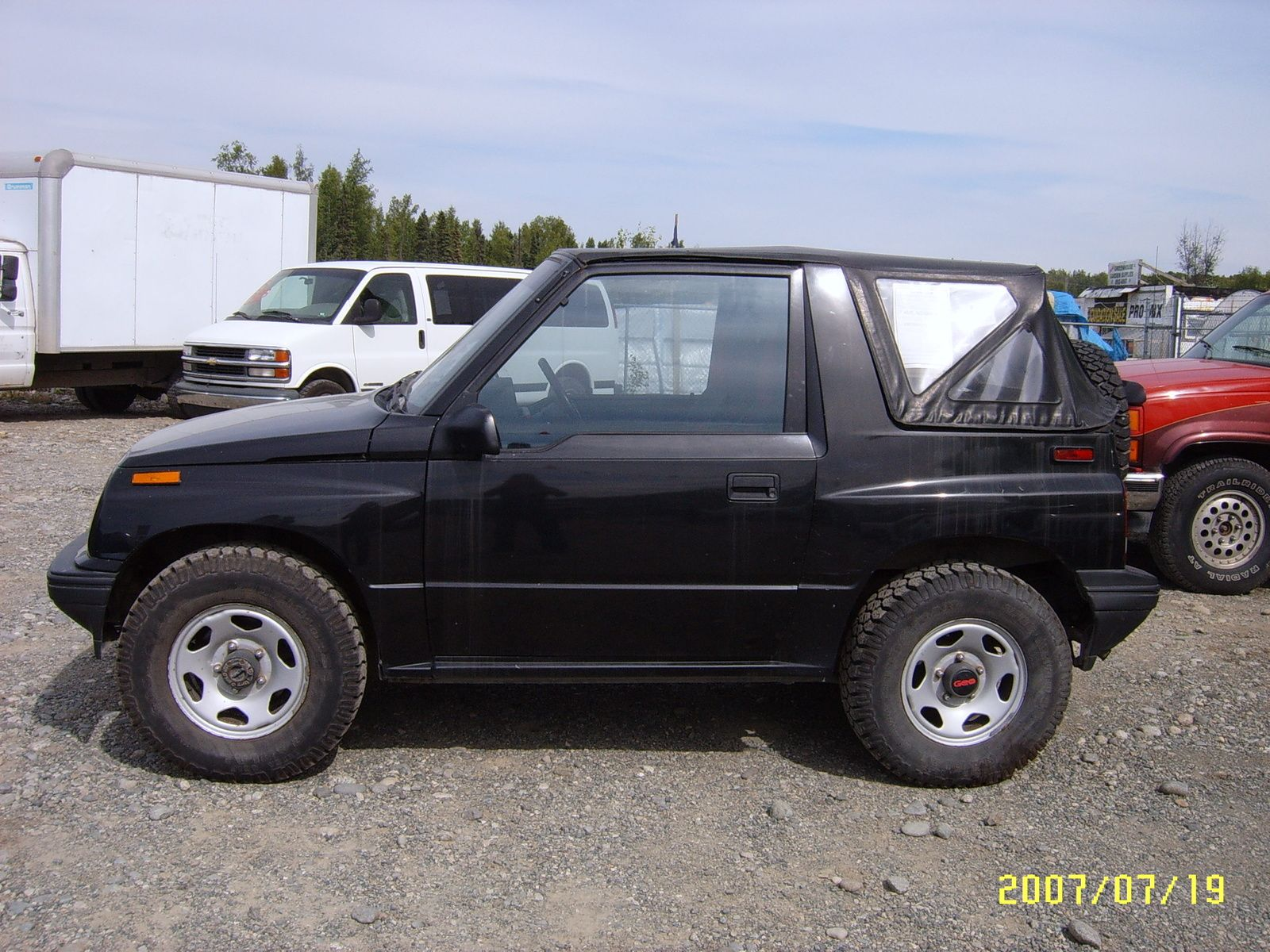 1996 Geo Tracker 4 Dr STD 4WD SUV | Geo | Geo, Cars, Dream ...