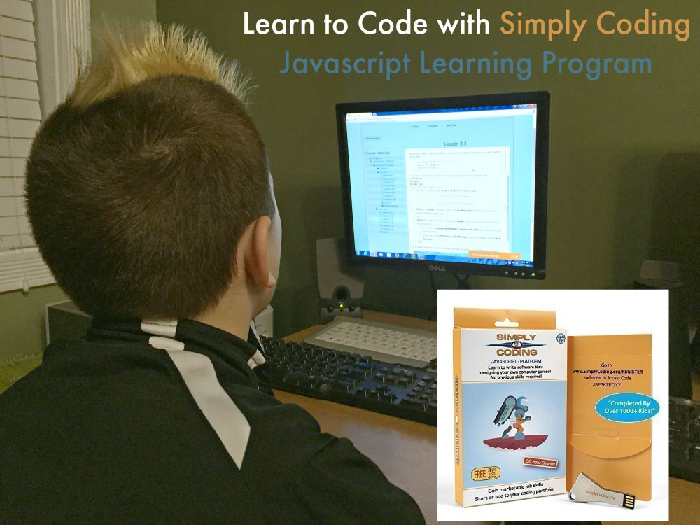 Learn to Code with Simply Coding Javascript Learning Program from Starts At Eight