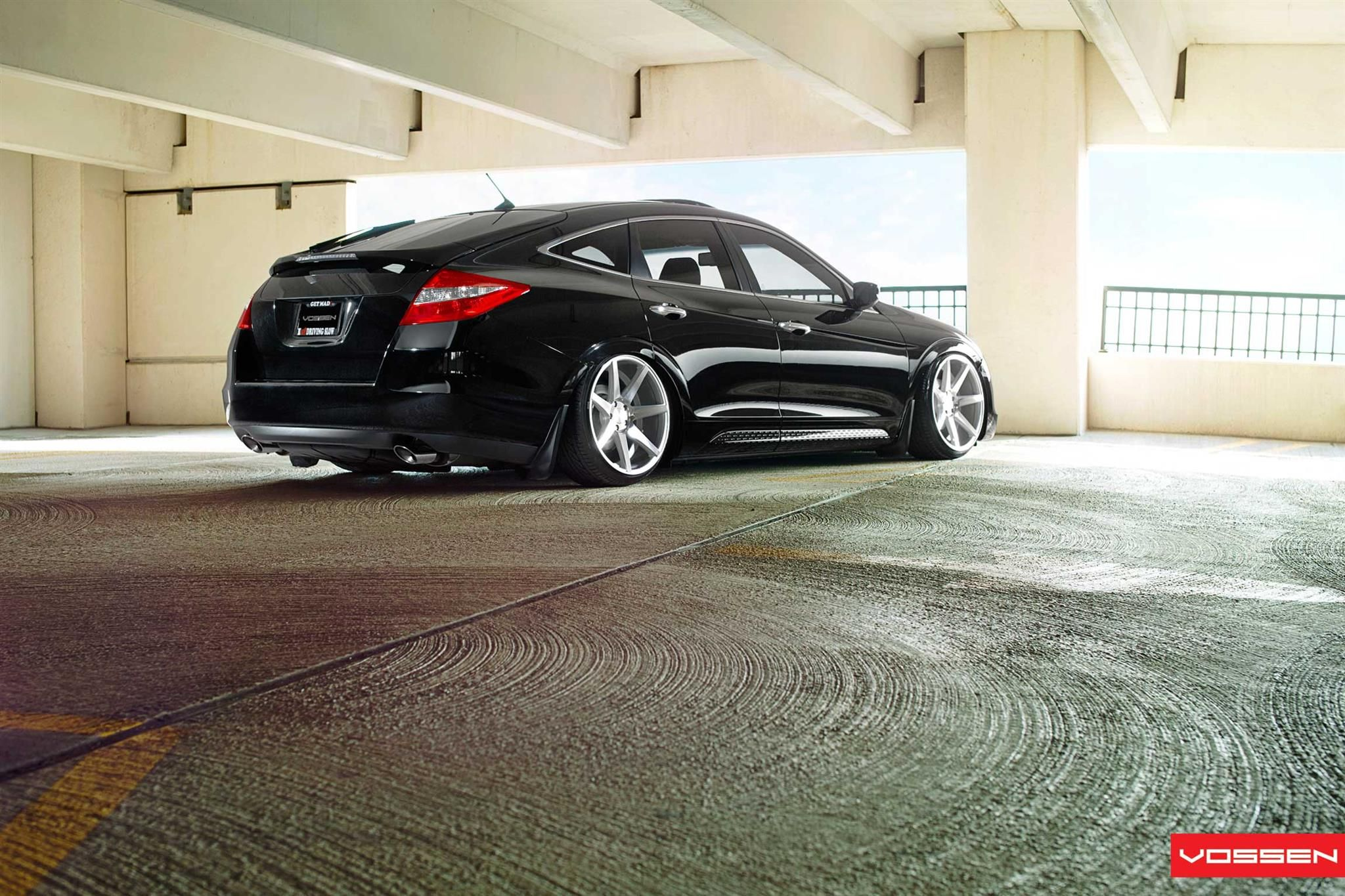 Honda Crosstour with Vossen VVSCV7 Wheels by Vossen Wheels. Click to view  more photos and mod info.