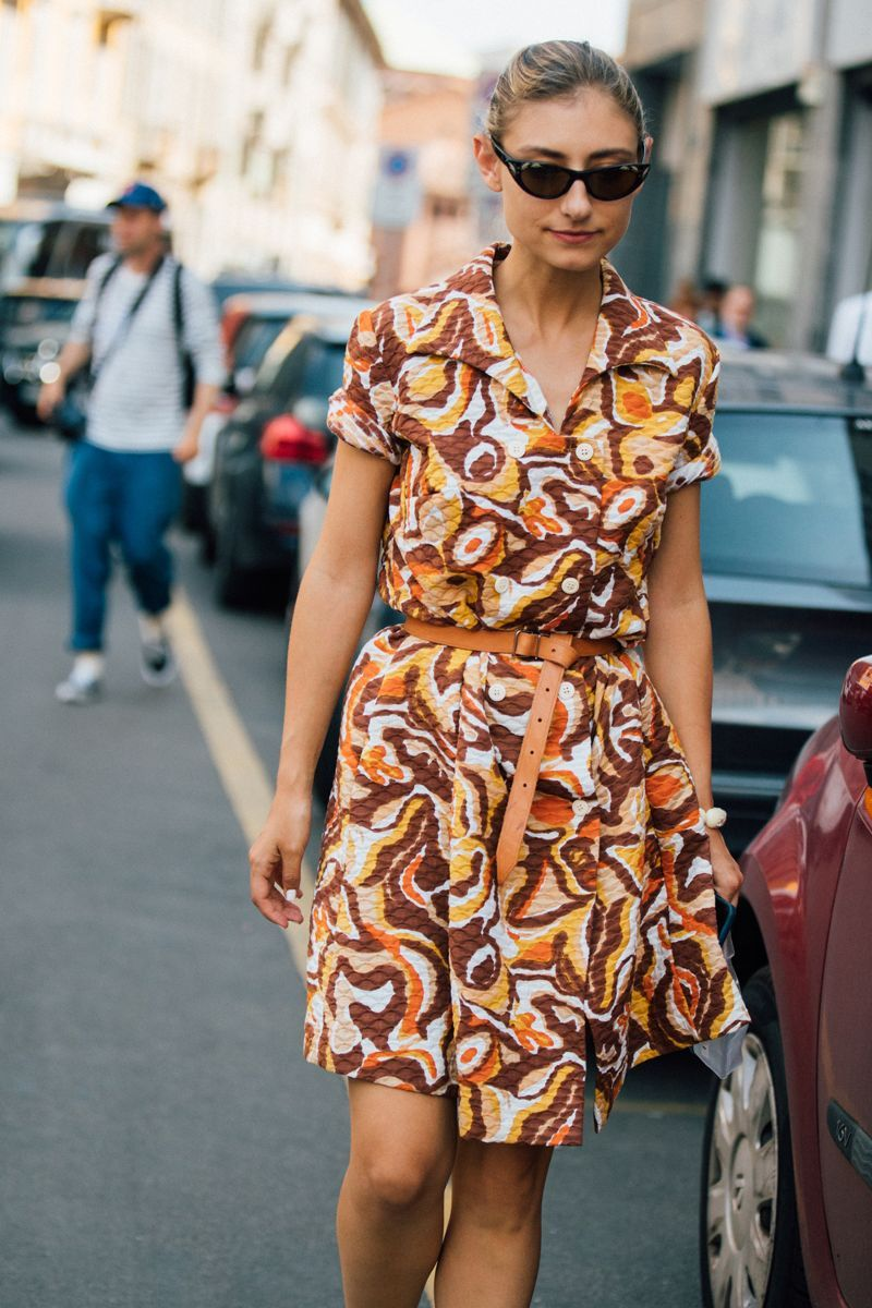 Milans Street Style Girls Just Wore Some Great Summer Outfits